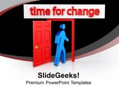 Find The Right Time To Change PowerPoint Templates Ppt Backgrounds For Slides 0613