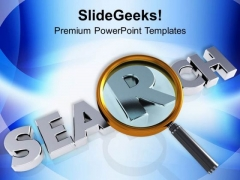 Find The Root Cause Business PowerPoint Templates Ppt Backgrounds For Slides 0413