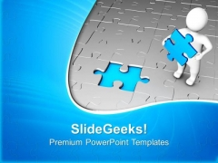 Find The Solution For Problem PowerPoint Templates Ppt Backgrounds For Slides 0413
