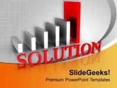 Find The Solution For Result Analysis PowerPoint Templates Ppt Backgrounds For Slides 0613