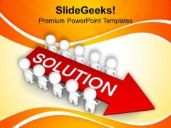Find The Solution With Team Help PowerPoint Templates Ppt Backgrounds For Slides 0713
