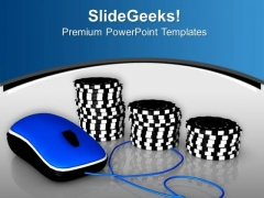 Find Your Online Betting And Gambling PowerPoint Templates Ppt Backgrounds For Slides 0713