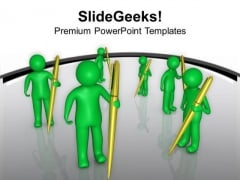 Find Your Own Community For Writing Blog PowerPoint Templates Ppt Backgrounds For Slides 0713