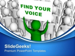 Find Your Voice Who Can Fight PowerPoint Templates Ppt Backgrounds For Slides 0613