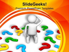 Finding All Answers Is Difficult PowerPoint Templates Ppt Backgrounds For Slides 0713