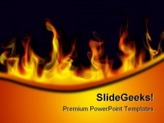 Fire Flames Abstract PowerPoint Themes And PowerPoint Slides 0411