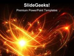 Fireworks Abstract Background PowerPoint Templates And PowerPoint Backgrounds 0511
