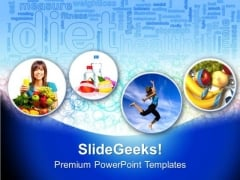 Fitness And Health PowerPoint Templates And PowerPoint Themes 0912