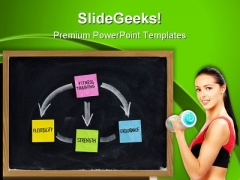 Fitness Training Concept Health PowerPoint Templates And PowerPoint Backgrounds 0711