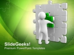 Fix All Problem With One Solution PowerPoint Templates Ppt Backgrounds For Slides 0713