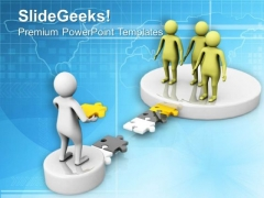 Fix The Bridge With Unique Solution PowerPoint Templates Ppt Backgrounds For Slides 0613