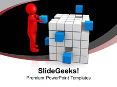 Fix The Problem Of Business PowerPoint Templates Ppt Backgrounds For Slides 0613
