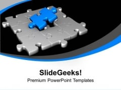 Fix The Problem With Right Solution PowerPoint Templates Ppt Backgrounds For Slides 0413