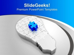 Fix The Problems With Right Solution PowerPoint Templates Ppt Backgrounds For Slides 0413