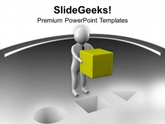 Fixing Problem Is Not Easy PowerPoint Templates Ppt Backgrounds For Slides 0713