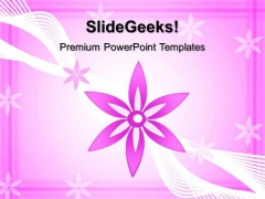 Floral Abstract Background PowerPoint Templates And PowerPoint Themes 0512