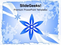 Floral Abstract PowerPoint Templates And PowerPoint Themes 0512