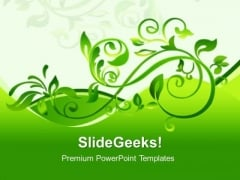 Floral Design PowerPoint Templates And PowerPoint Themes 0412