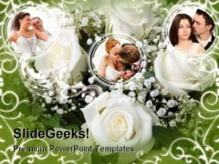 Flowers01 Nature PowerPoint Template 0610