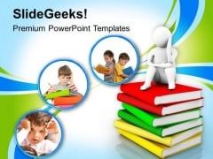 Focus On Children Education PowerPoint Templates Ppt Backgrounds For Slides 0513