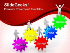 Focus On Vision To Get Success PowerPoint Templates Ppt Backgrounds For Slides 0713