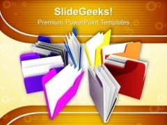 Folder PowerPoint Templates And PowerPoint Themes 0912