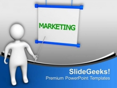 Follow The Marketing Rules PowerPoint Templates Ppt Backgrounds For Slides 0813