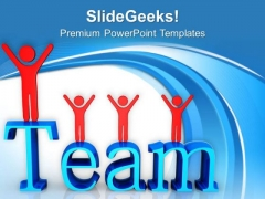 Follow The Team Direction And Vision PowerPoint Templates Ppt Backgrounds For Slides 0513