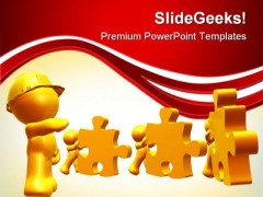 Following Leader Instruction Leadership PowerPoint Themes And PowerPoint Slides 0411