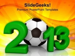 Football 2013 Competition Game PowerPoint Templates Ppt Backgrounds For Slides 1112