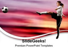 Football Game PowerPoint Themes And PowerPoint Slides 0711