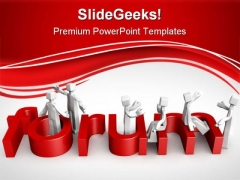 Forum Discussion Concept Metaphor PowerPoint Themes And PowerPoint Slides 0511