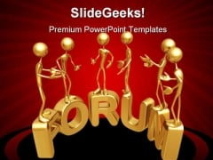 Forum Internet PowerPoint Themes And PowerPoint Slides 0511