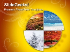Four Seasons01 Nature PowerPoint Templates And PowerPoint Backgrounds 0711