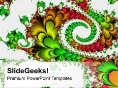 Fractal Design Background PowerPoint Templates Ppt Backgrounds For Slides 0613