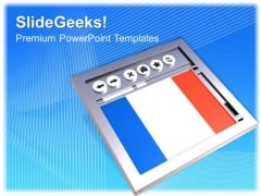 France Website PowerPoint Templates And PowerPoint Themes 1012