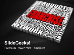 Franchise Network Global PowerPoint Themes And PowerPoint Slides 0411