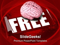 Free Your Mind Medical PowerPoint Templates And PowerPoint Backgrounds 0311
