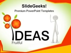 Fruitful Ideas Business PowerPoint Templates And PowerPoint Backgrounds 0611