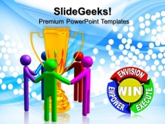 Full Spectrum Trophy People PowerPoint Templates And PowerPoint Themes 0712