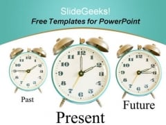 Future Clocks PowerPoint Template