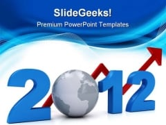 Future Success Concept Global Business PowerPoint Themes And PowerPoint Slides 0911