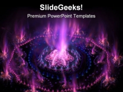 Futuristic Purple With Blue Background PowerPoint Themes And PowerPoint Slides 0511