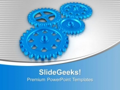 Gear The Sales Process PowerPoint Templates Ppt Backgrounds For Slides 0613