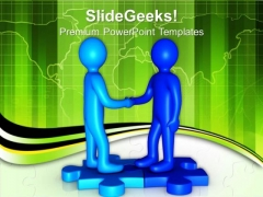 Gear Your Relation With Clients PowerPoint Templates Ppt Backgrounds For Slides 0613