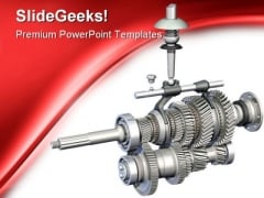 Gears Industrial PowerPoint Themes And PowerPoint Slides 0311