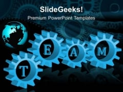 Gears Team Global PowerPoint Templates And PowerPoint Themes 0512