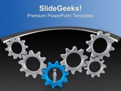 Generating Right Process Gear Is Important PowerPoint Templates Ppt Backgrounds For Slides 0713