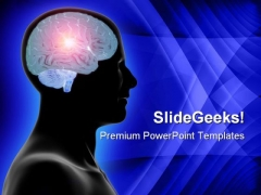 Genius Brain Technology PowerPoint Themes And PowerPoint Slides 0811