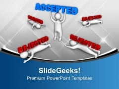 Get Accepted By Employers With Skills PowerPoint Templates Ppt Backgrounds For Slides 0513